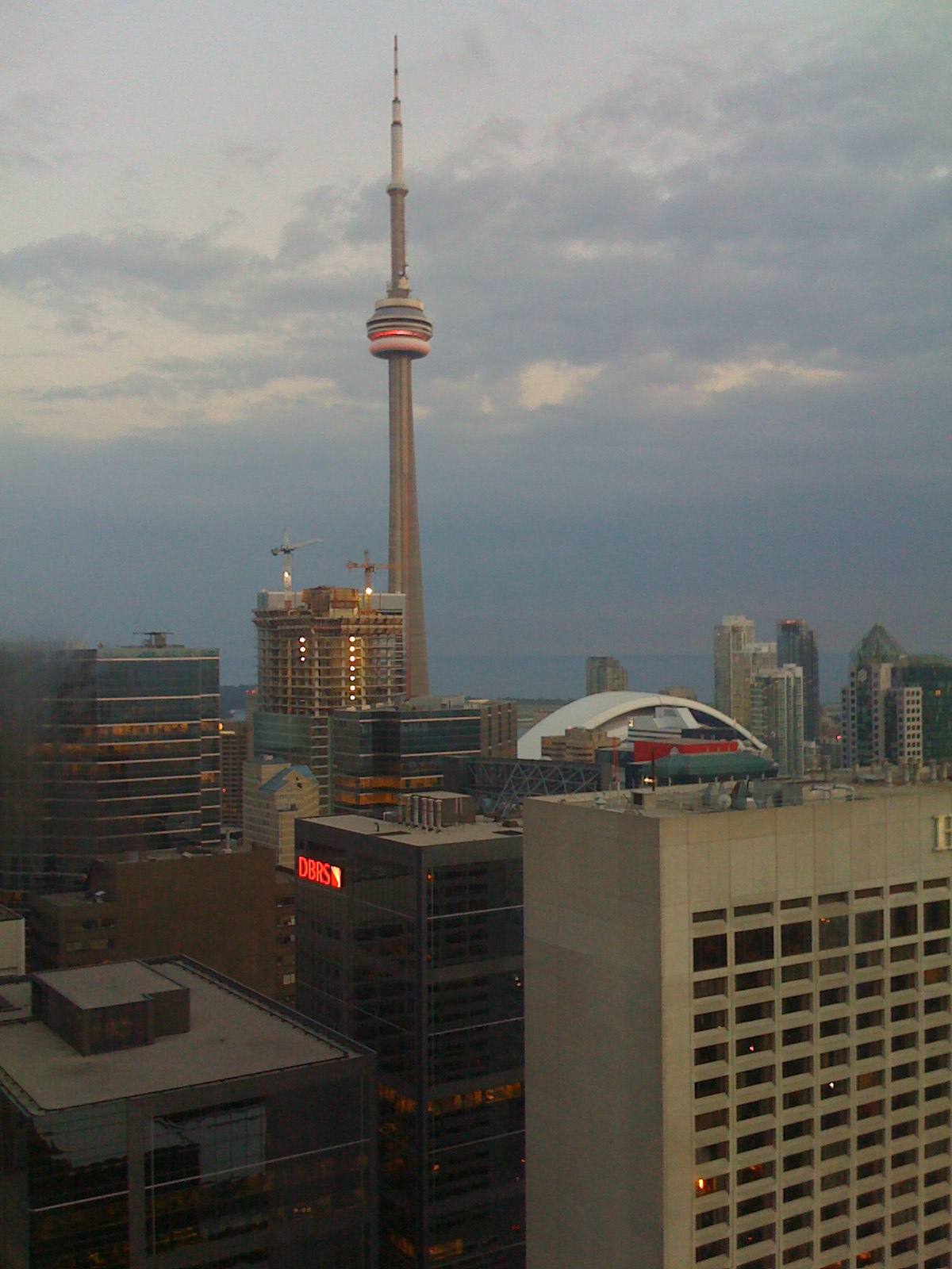 View from my Toronto hotel room